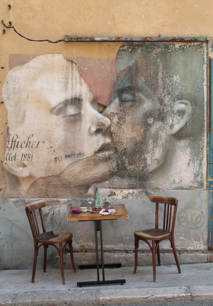 Alberto Ruce - Le baiser (Marseille)