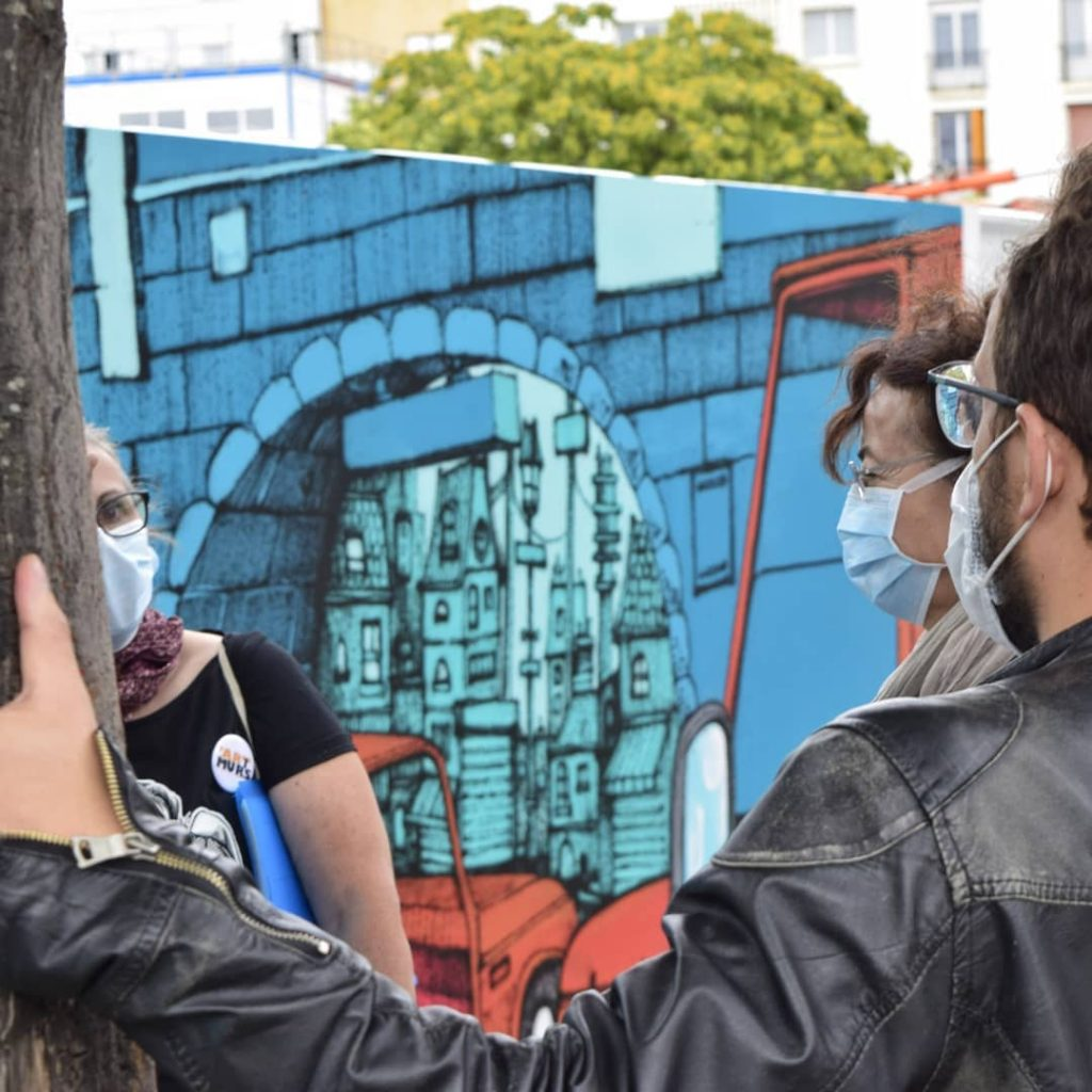 promenade guidée Art'Murs - Cannibal Letters