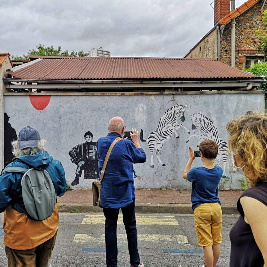 promenade Fontenay Art'Murs - Nemo Jef Aerosol Mosko