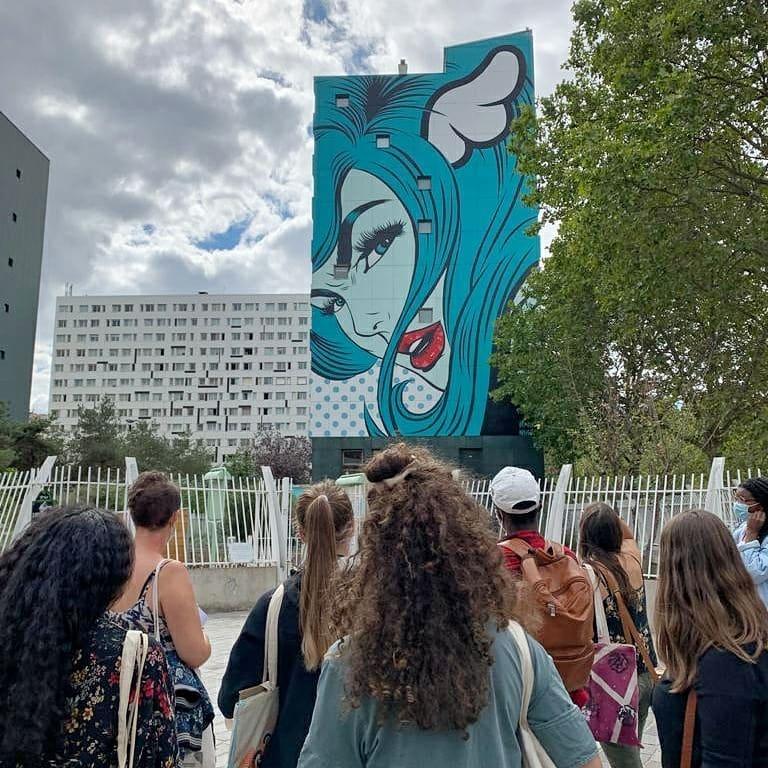 Promenade Paris13 Art'Murs - DFace