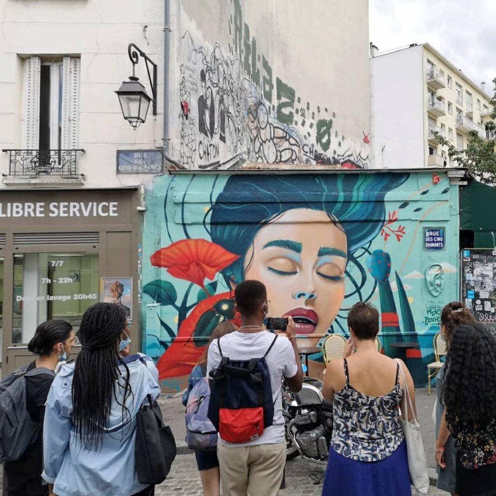promenade Paris13 Art'Murs - MsieuBonheur